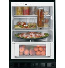 "Load image into Gallery viewer, Ge  24"" Undercounter Refrigerator with 5.4 cu. ft. Capacity"
