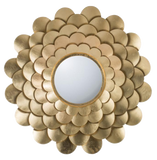 Scalloped Flower Mirror