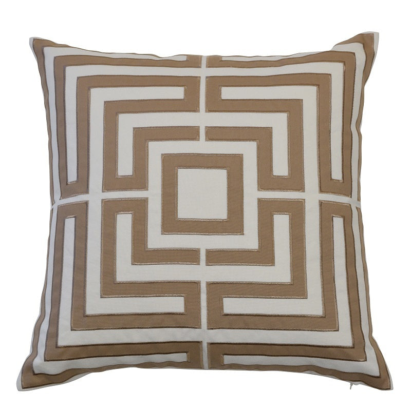 Acapulco Khaki 50cm Cushion Cover-Bibilo