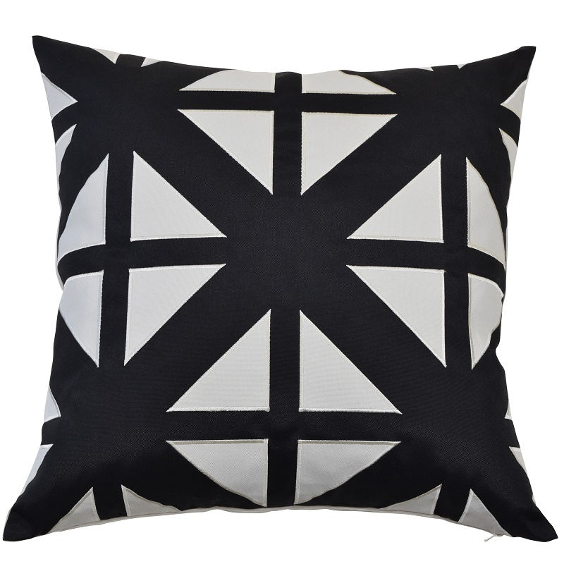 Havana Black 55cm Cushion Cover-Bibilo
