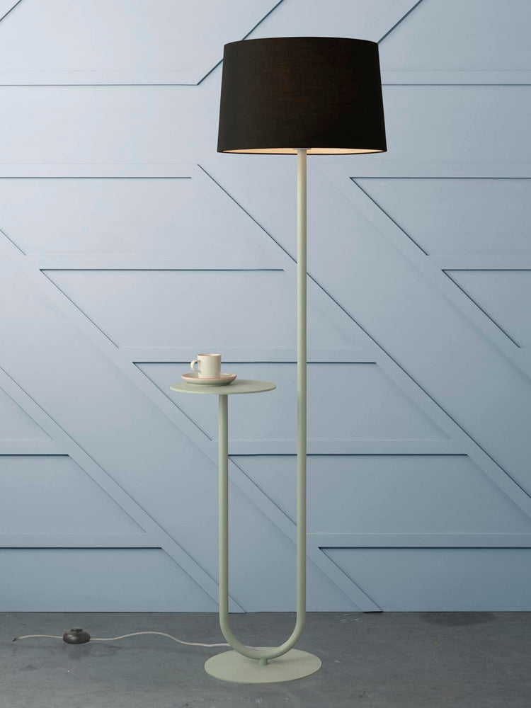 Esta Floor Lamp Sage Green-Bibilo