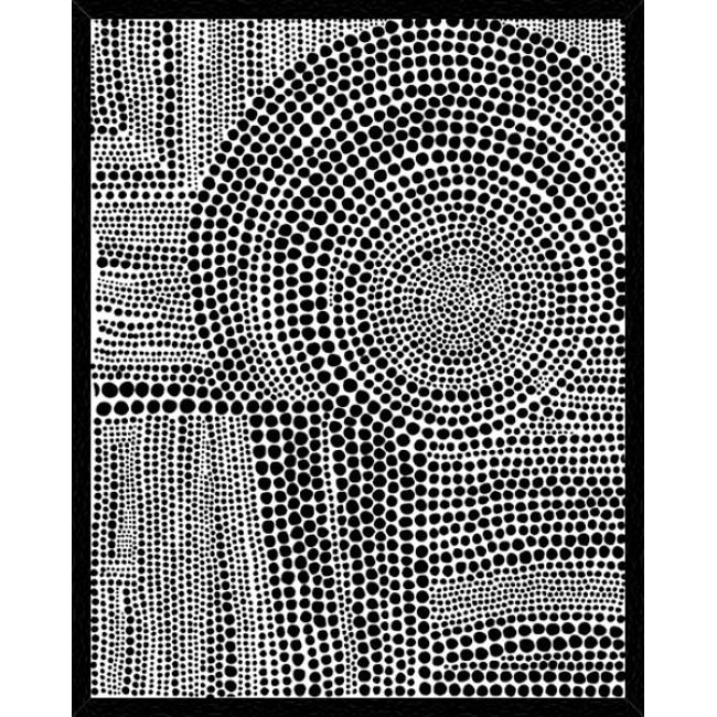 Clustered Dots B Framed Print-Bibilo