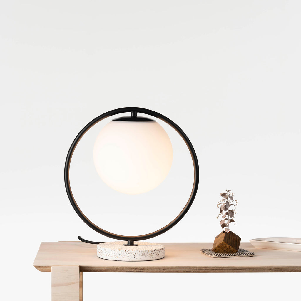 Kepi Table Lamp Black-Bibilo