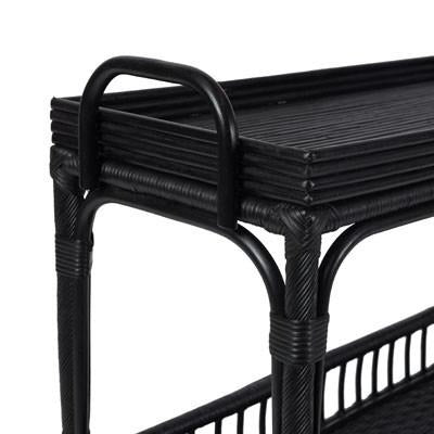 Palm Springs Bar Cart - Black-Bibilo