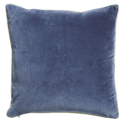 Atlantic Square 50cm Cushion Blue Set of 2-Bibilo