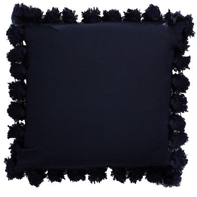 Luxe Velvet Sqaure 60cm Cushion Navy Set of 2-Bibilo