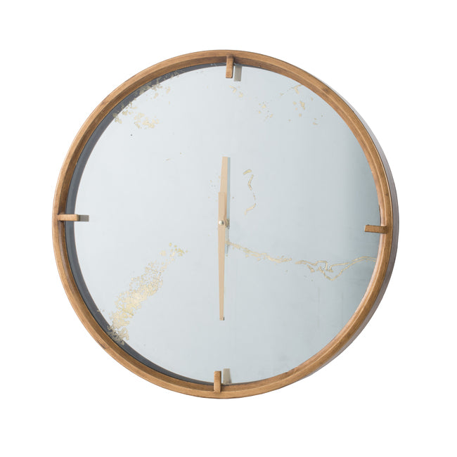 Baltimore Wall Clock Brass-Bibilo