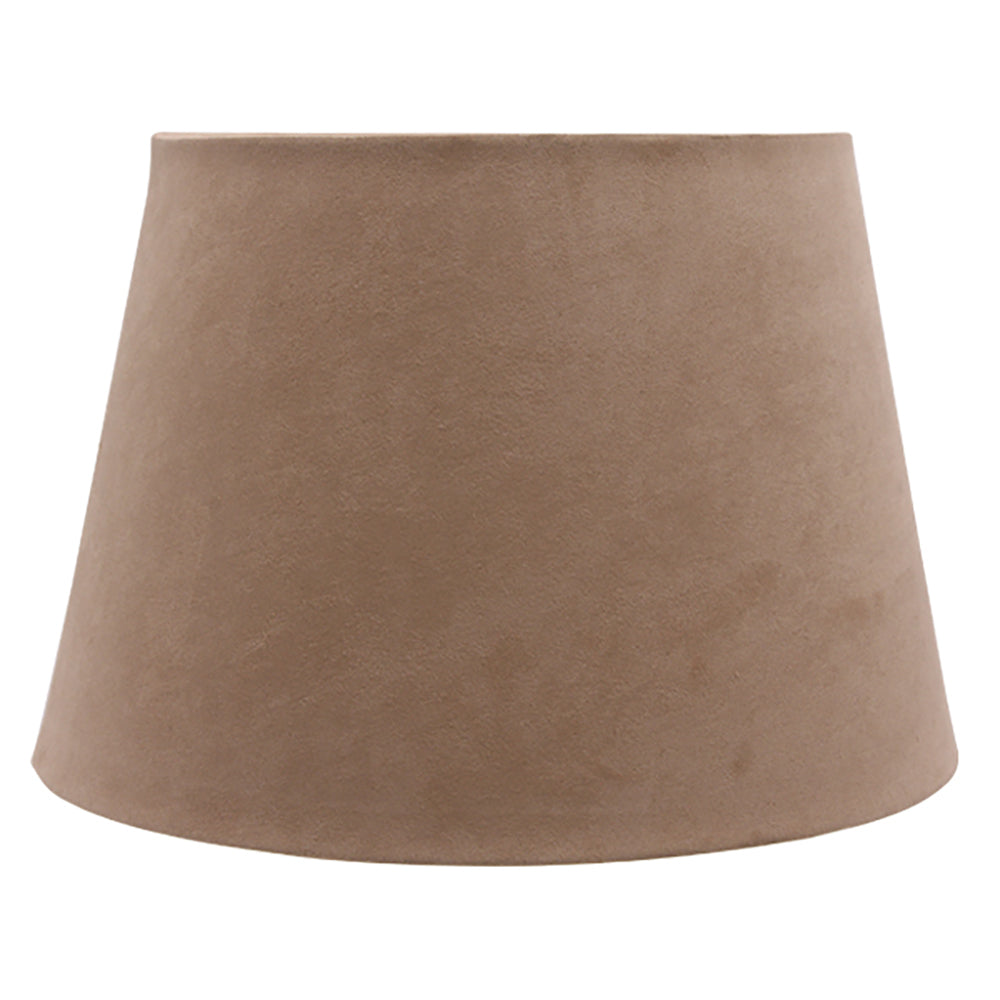 Shade for Table Lamp - Caramel Suede-Bibilo