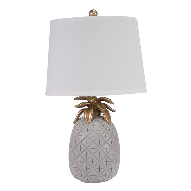 Tropicana Table Lamp Grey Set of 2-Bibilo