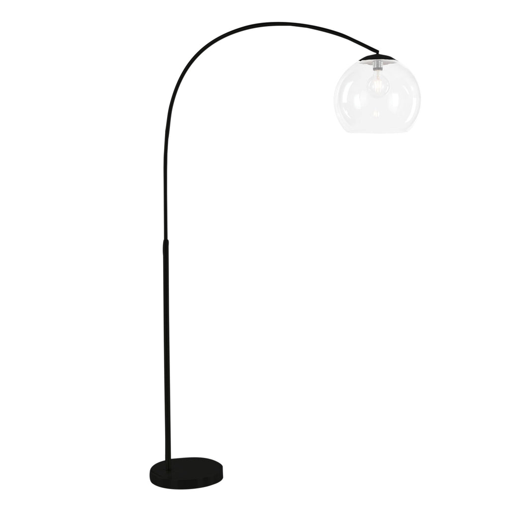 Ova Floor Lamp Black-Bibilo