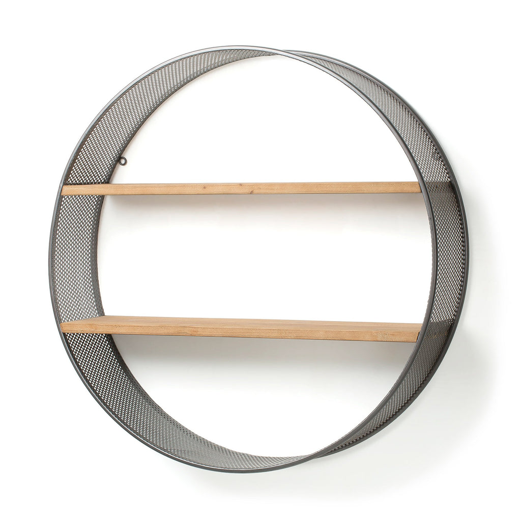 Cirque Wall Shelf Grey-Bibilo