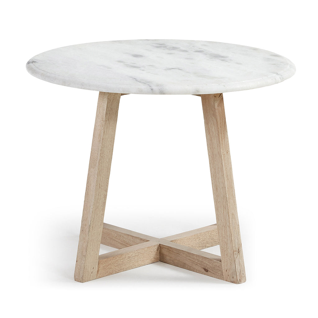 Hellas Side Table Marble-Bibilo