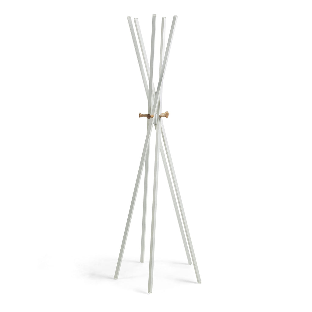 Zara Coat Rack White-Bibilo