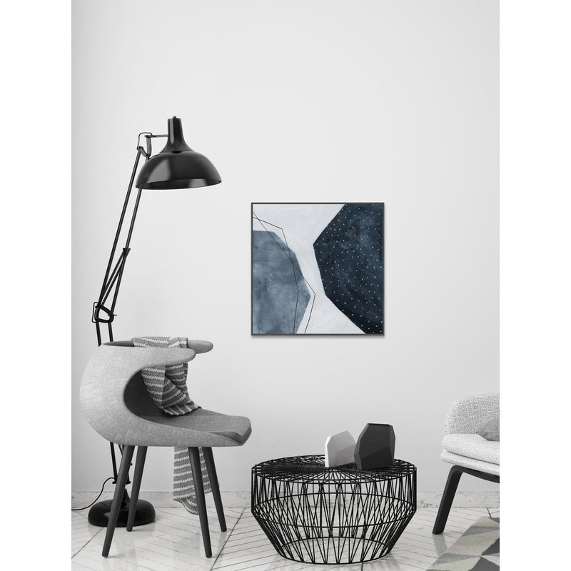 Adjacent Abstraction II Framed Print-Bibilo