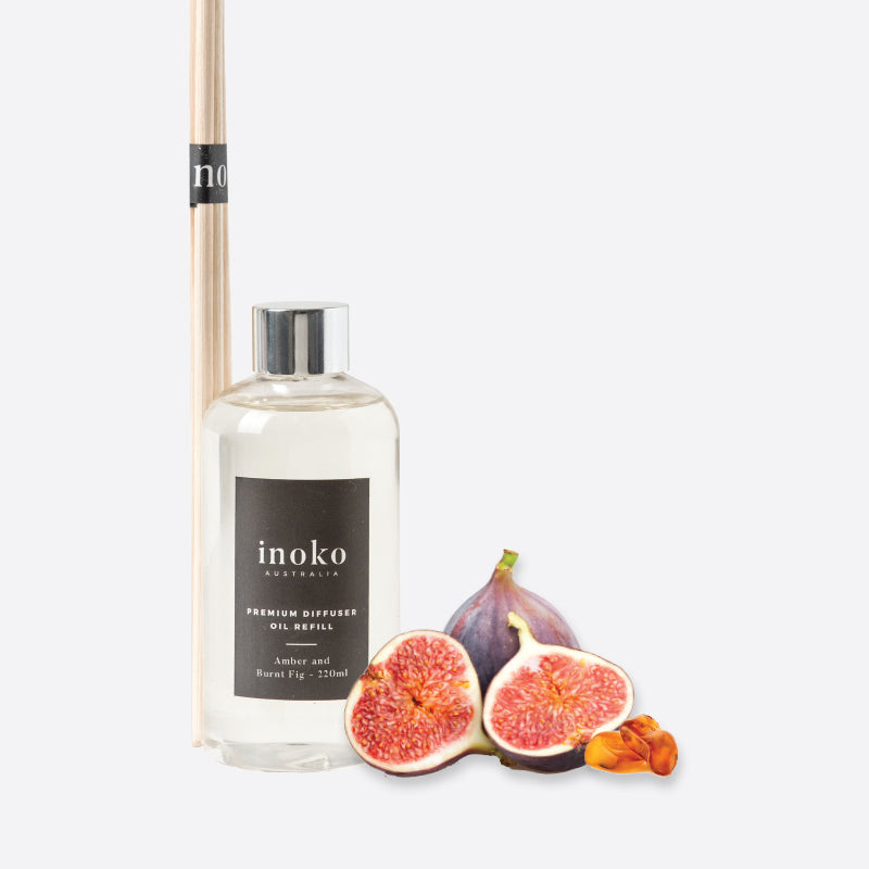 Amber & Burnt Fig Diffuser Refill-Bibilo