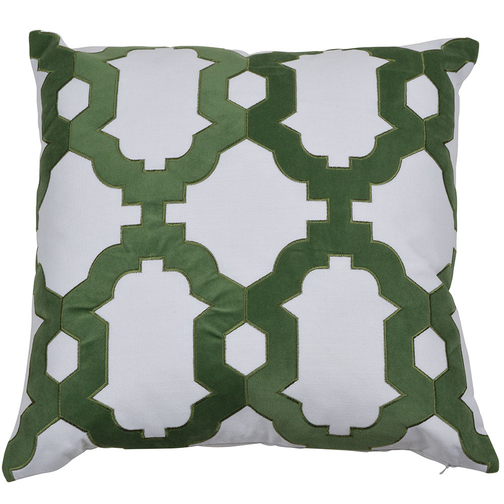Brighton Olive 50cm Cushion Cover-Bibilo