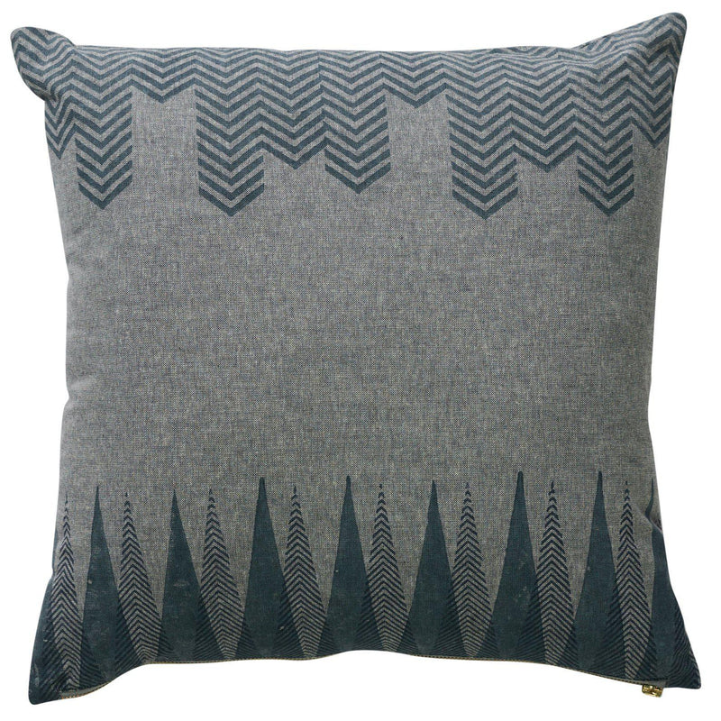 Azure Keys Square 45cm Cushion Grey Set of 2-Bibilo