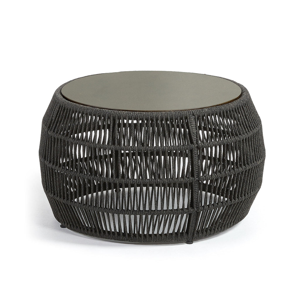 Bahamas 70 Side Table Black-Bibilo