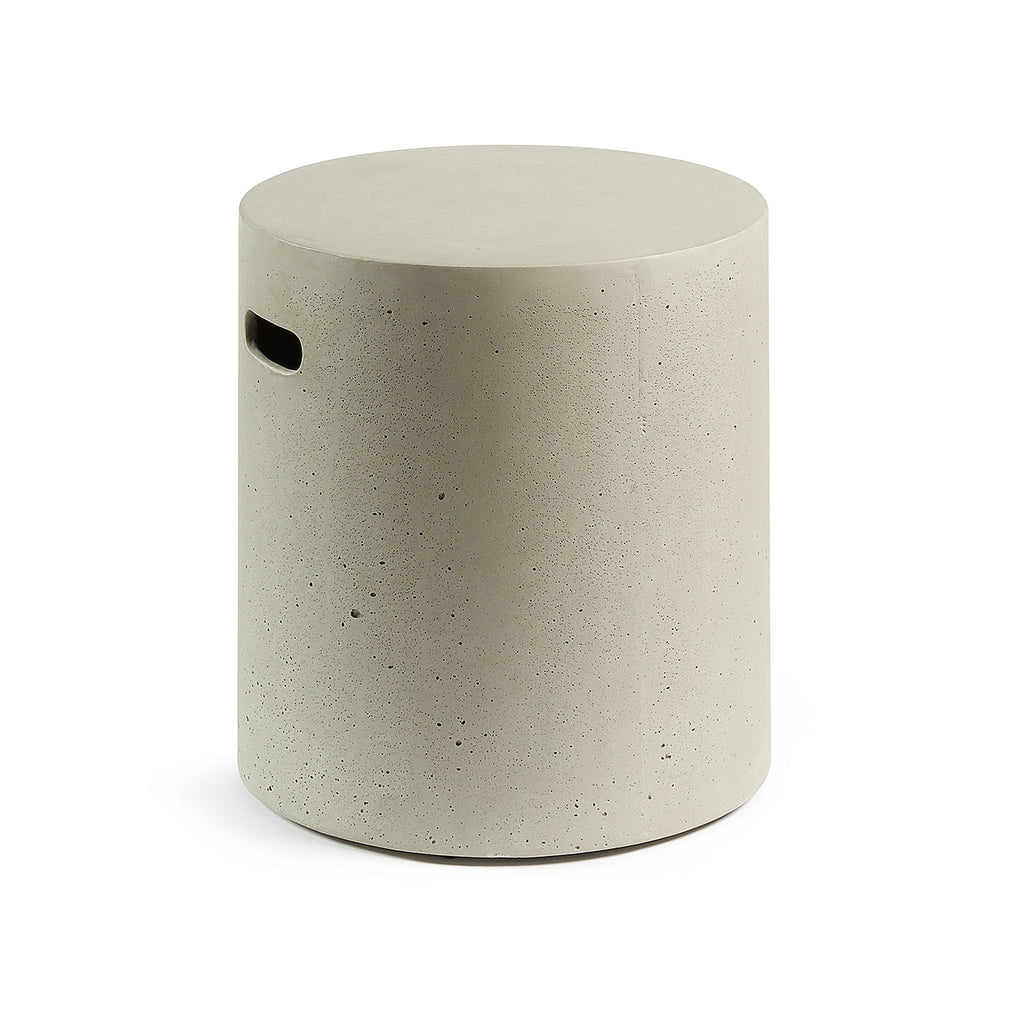 Rhianne Side Table Cement-Bibilo