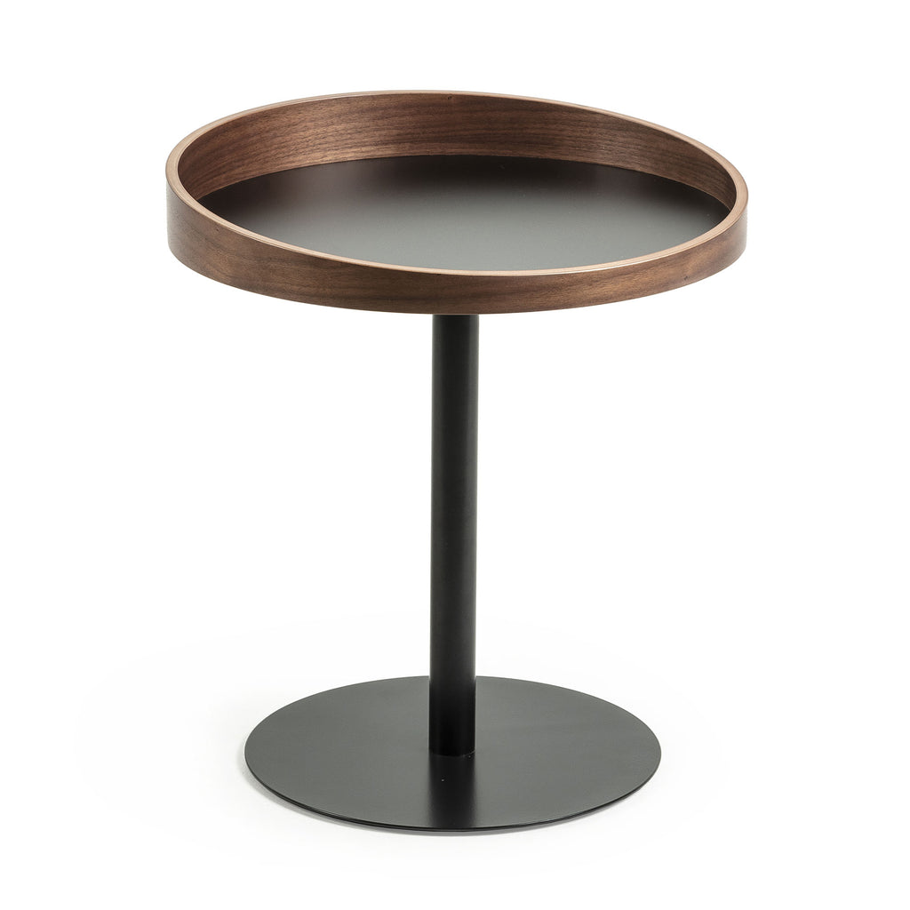 Kartier Side Table Walnut-Bibilo