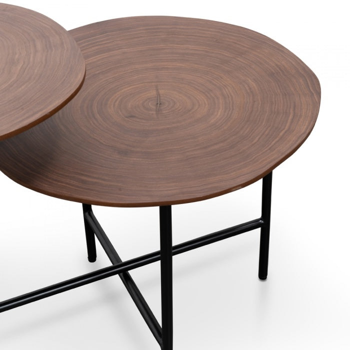 Sven Side Table Walnut-Bibilo