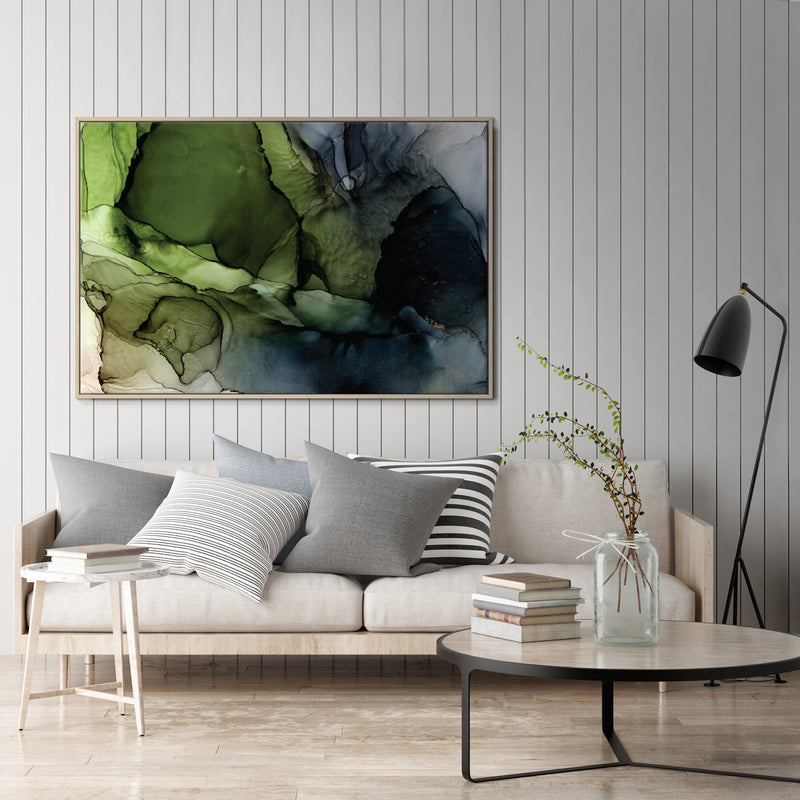 Crisp Framed Canvas Print by Fern Siebler-Bibilo