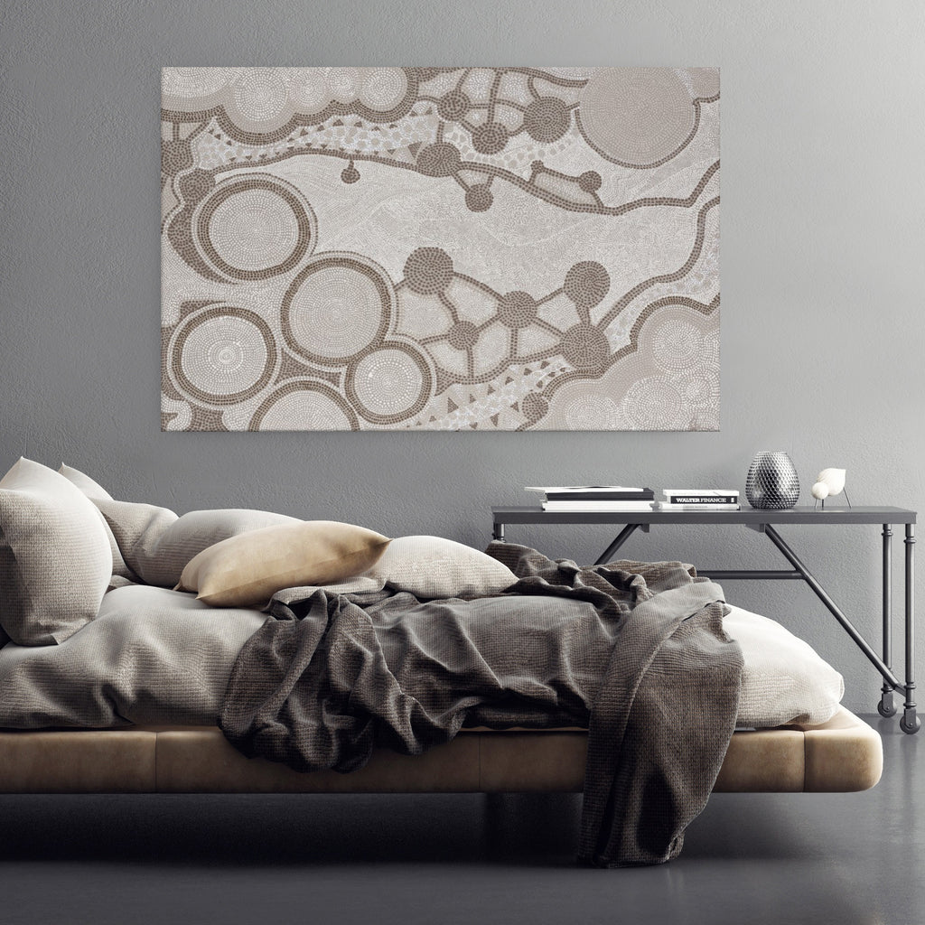Dot Art 2 Canvas Print by Patricia Baliviera-Bibilo