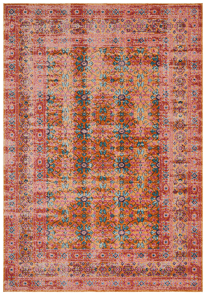Magir Sunset Rust Rug-Bibilo