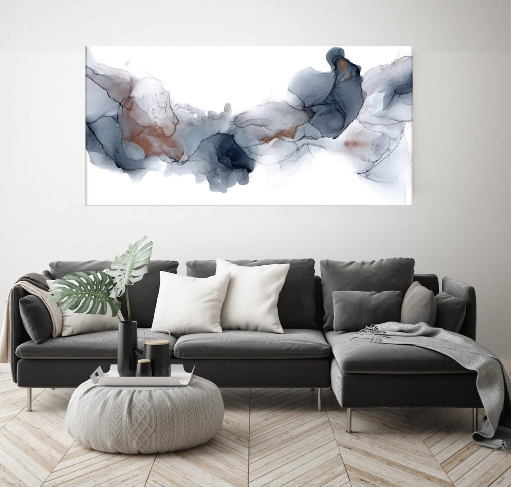 Fire & Ice Canvas Print by Fern Siebler-Bibilo