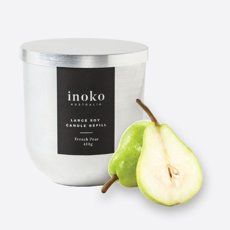 French Pear Candle Refill Large-Bibilo