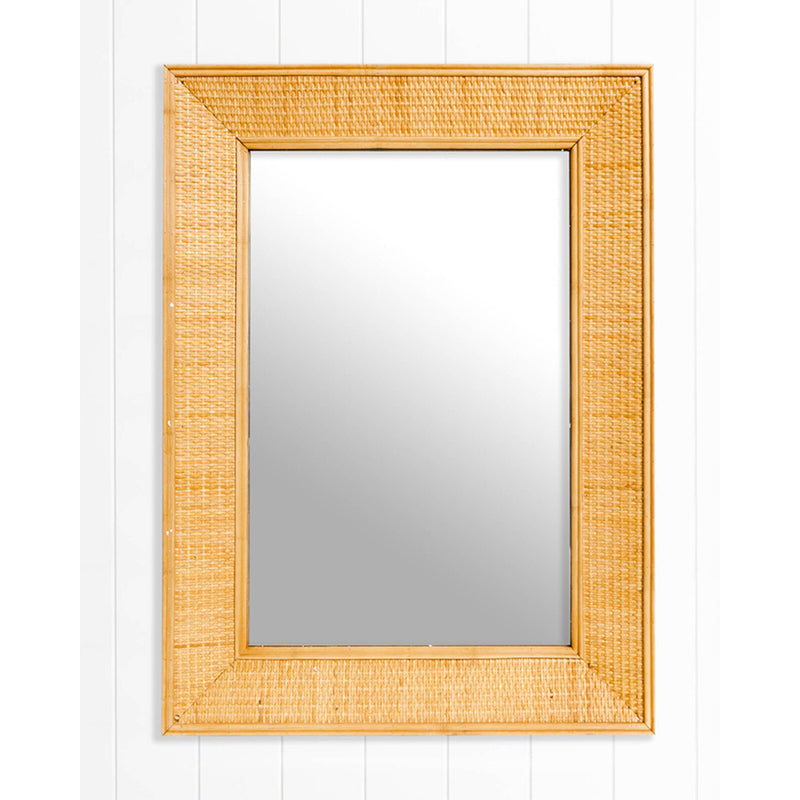 Leyla Rectangle Mirror Natural-Bibilo