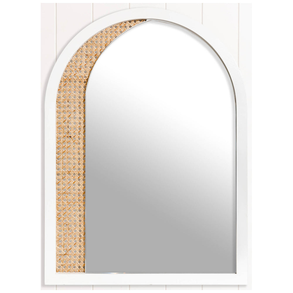 Georgie Mirror White-Bibilo