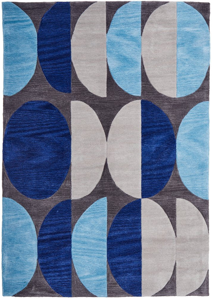 Eclipse Blue Rug-Bibilo