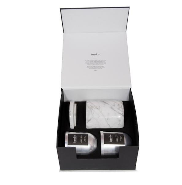 Limited Edition Marble Gift Set Large-Bibilo