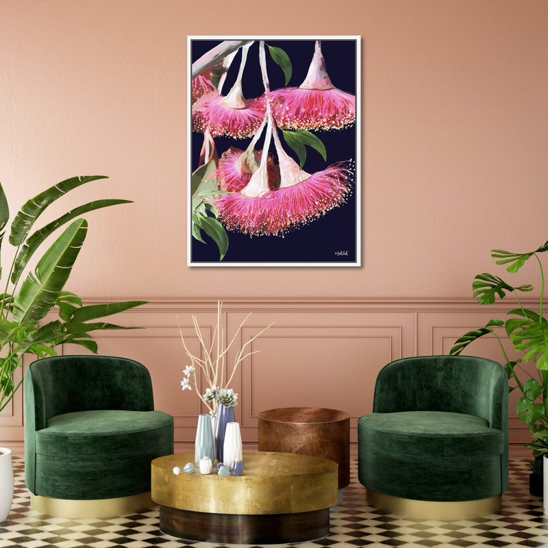 Caesia Framed Canvas Print-Bibilo