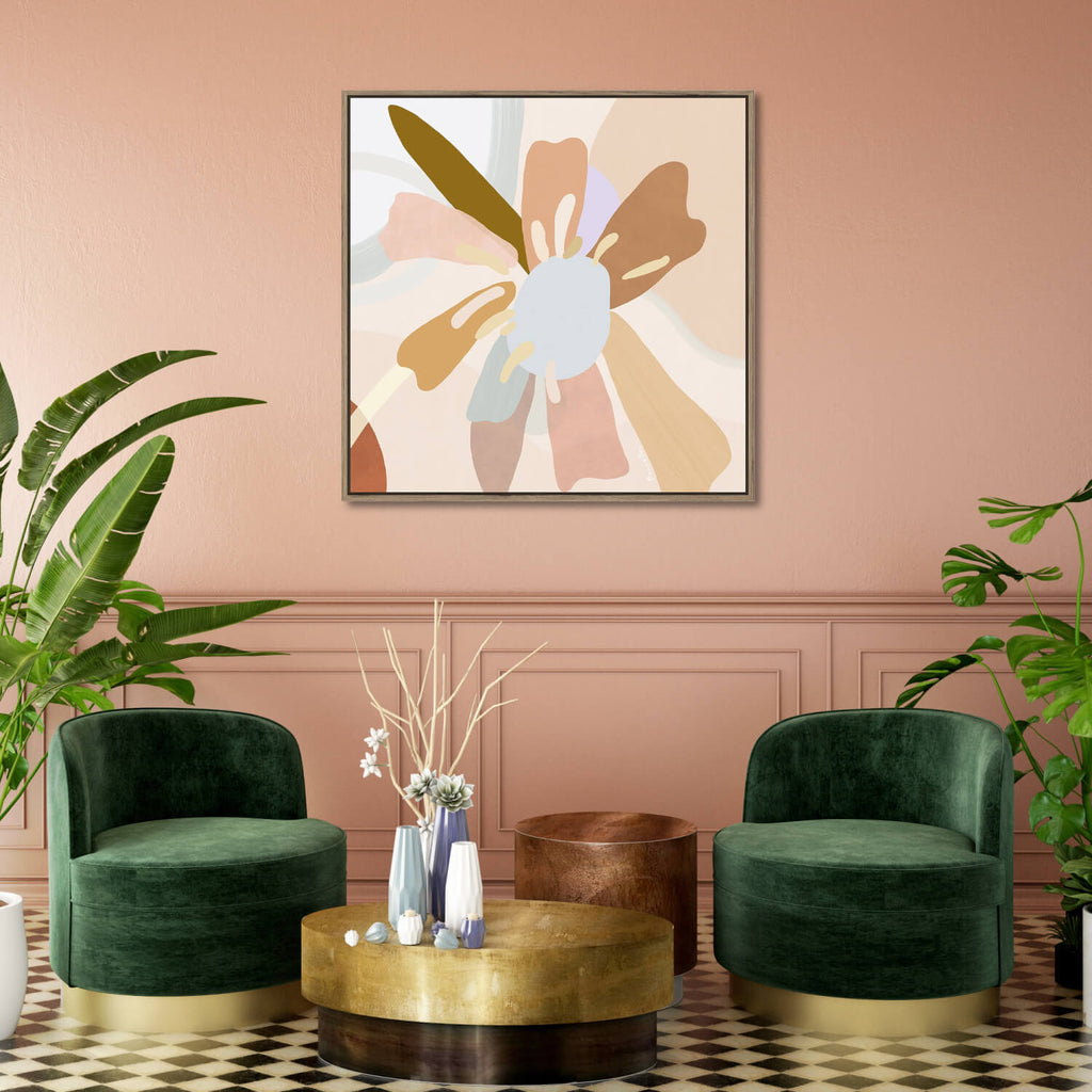 Golden Hour 1 Framed Canvas Print-Bibilo