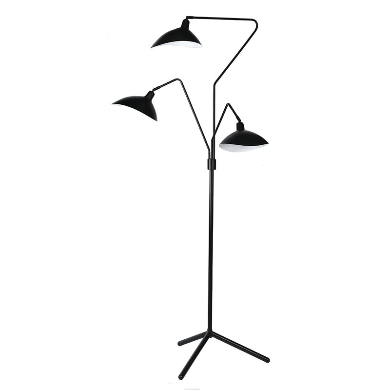 Spida Floor Lamp Black-Bibilo