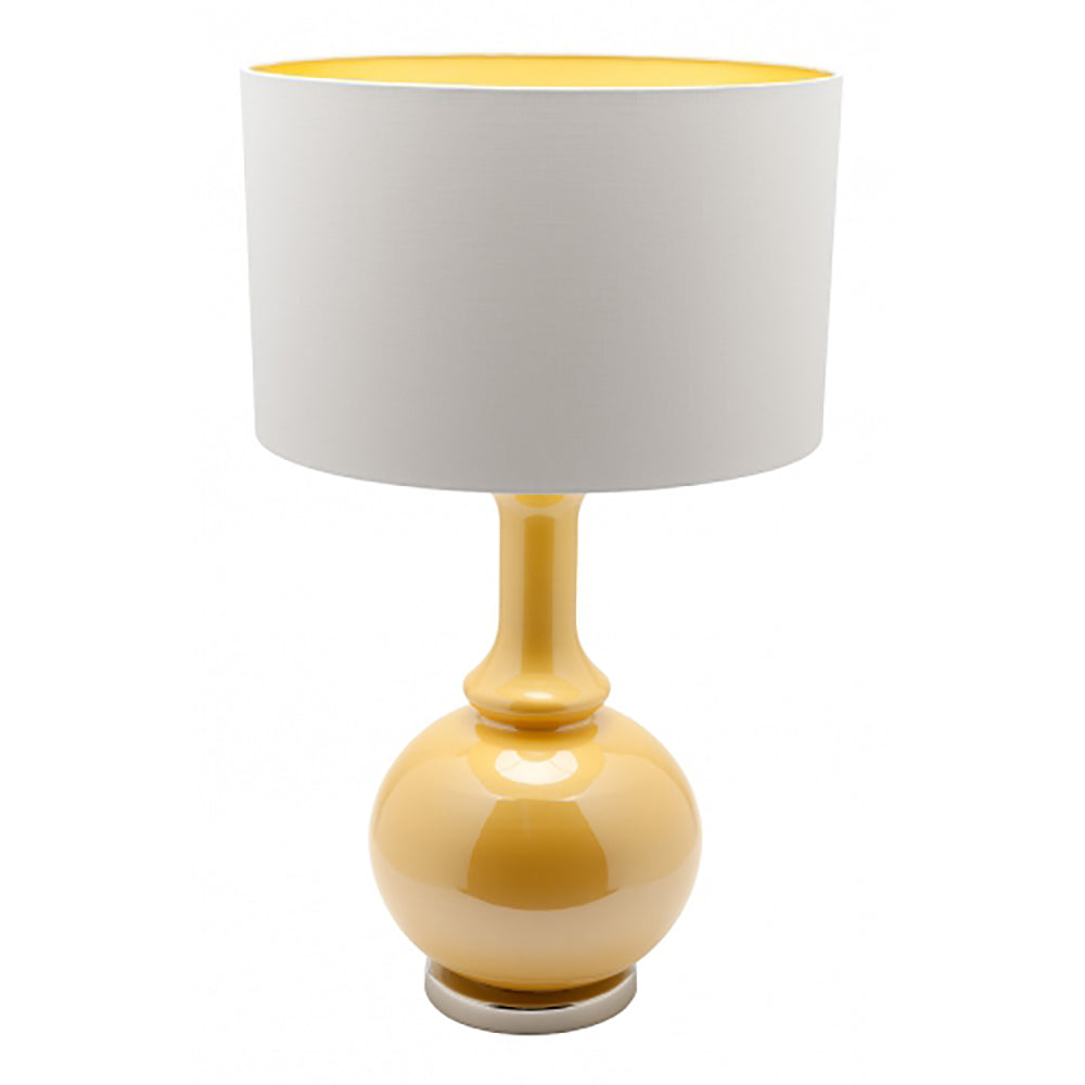 Canary Table Lamp Yellow-Bibilo