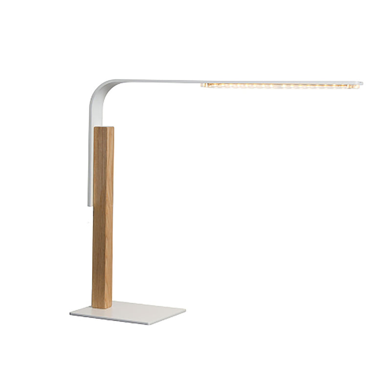 Report Desk Lamp White-Bibilo
