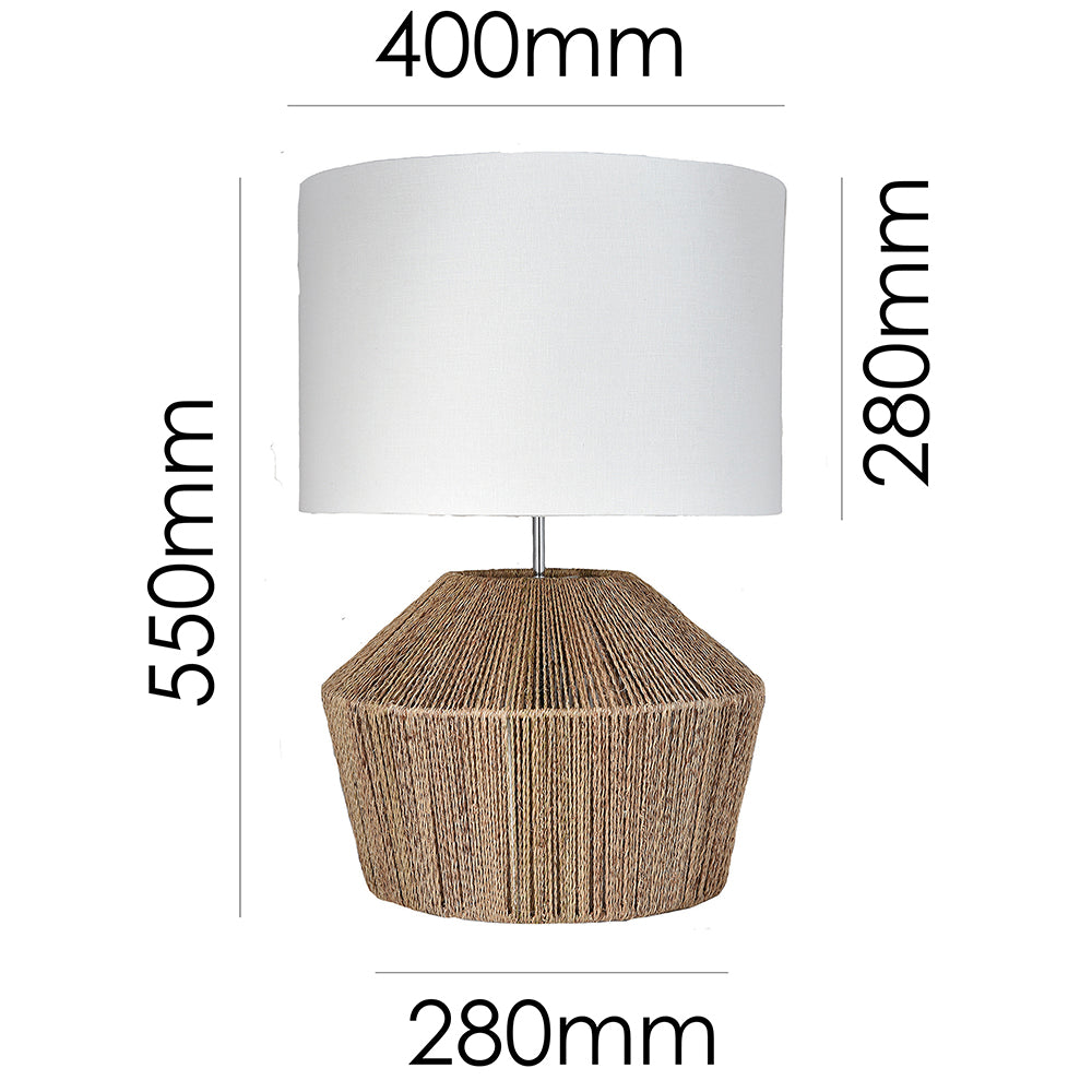 Sands Table Lamp Natural-Bibilo