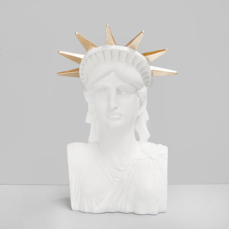 Liberty the Statue White-Bibilo