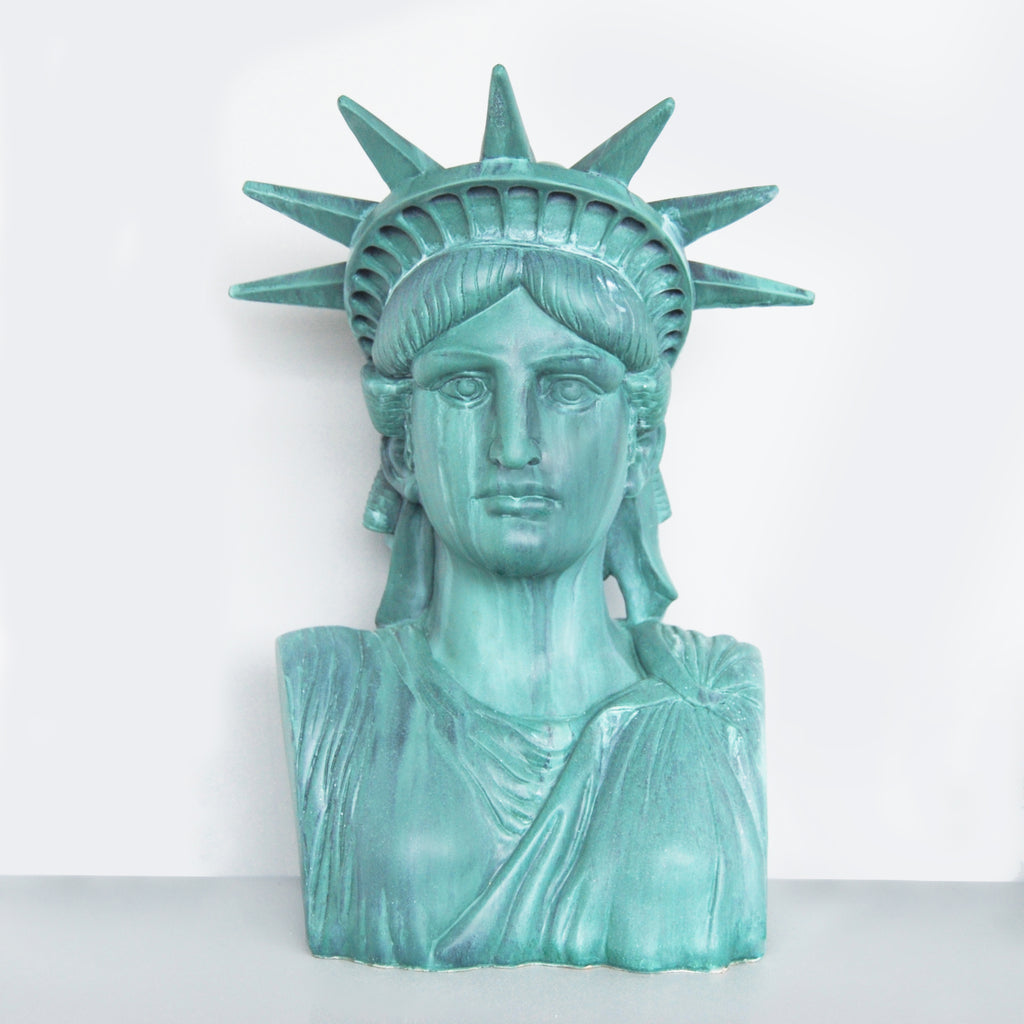 Liberty the Statue Verdigris-Bibilo