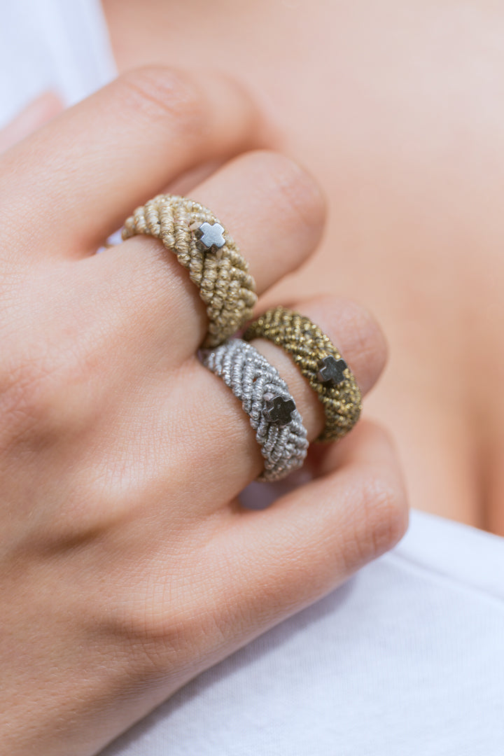 Faith Handmade Ring Silver-Bibilo