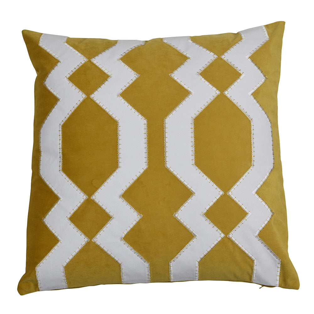 Mosman Gold 50cm Cushion Cover-Bibilo