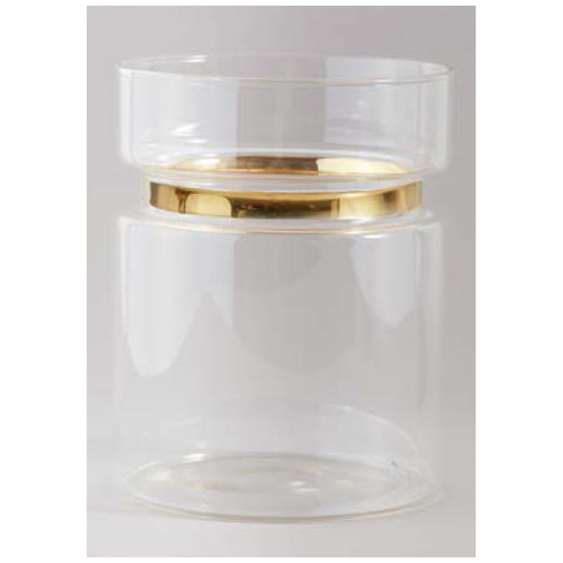 Milan Glass Vase Medium-Bibilo