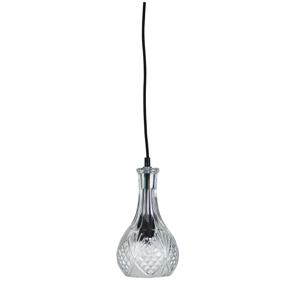 Decant 1 Glass Pendant-Bibilo
