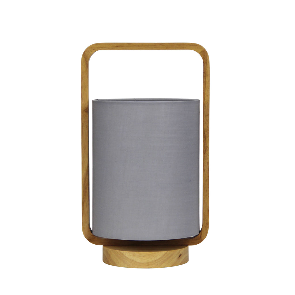 Lucia Table Lamp Grey-Bibilo