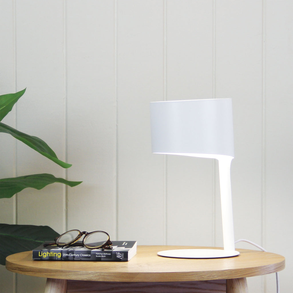 Jordi Desk Lamp White-Bibilo