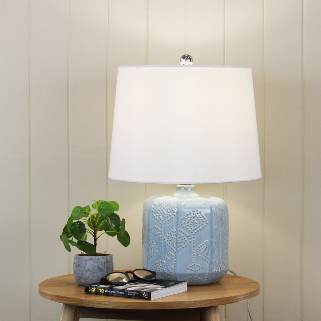 Bindi Table Lamp Blue-Bibilo