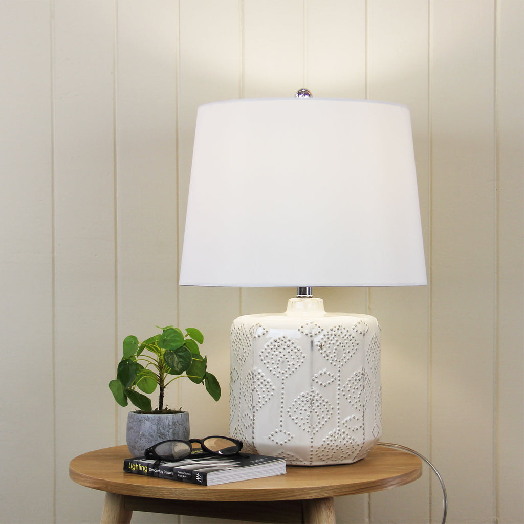 Bindi Table Lamp White-Bibilo